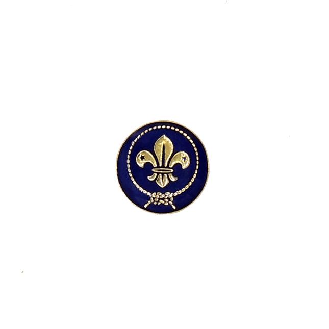 Pin insignia mundial pequeña