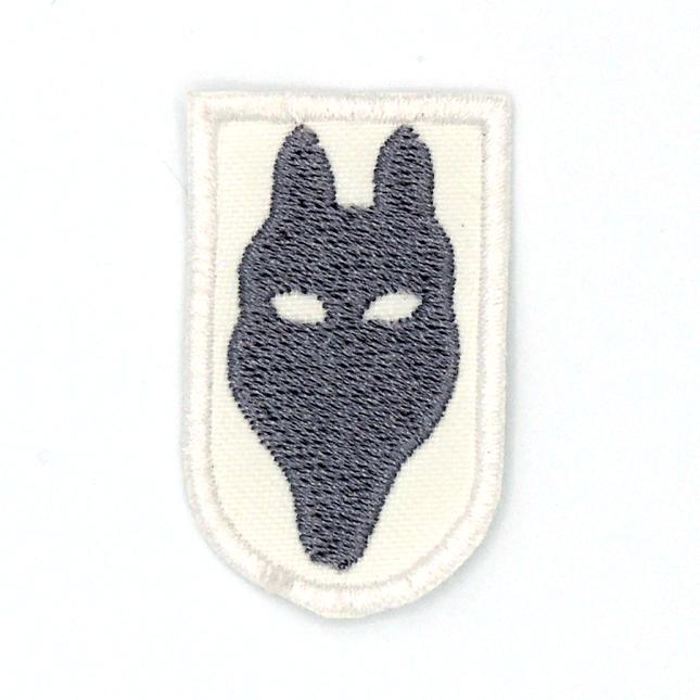 Cap de llop gris