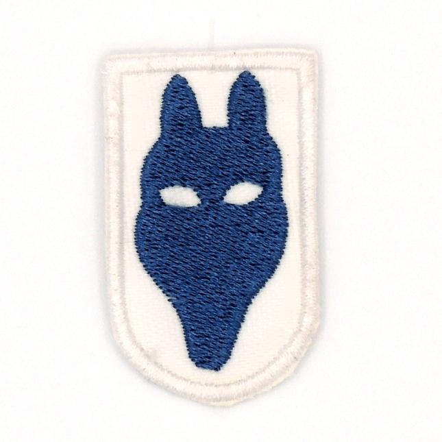 Cabeza de lobato azul