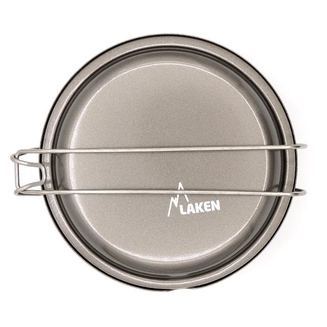 Fiambrera redonda de aluminio Laken