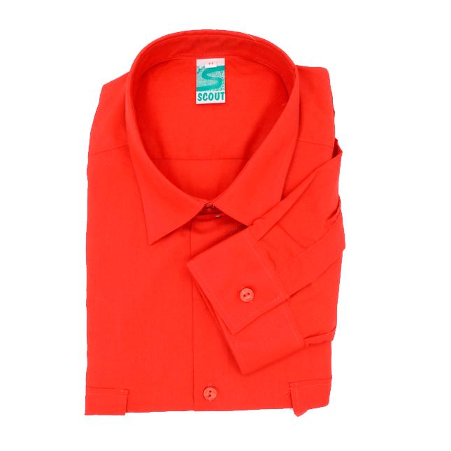 Camisa Scout Vermella