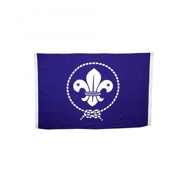 Bandera Escultismo mundial