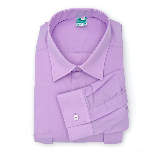 Camisa Scout Lila