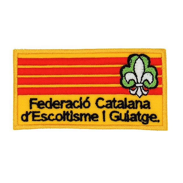 """Insignia """"Federació Catalana..."""