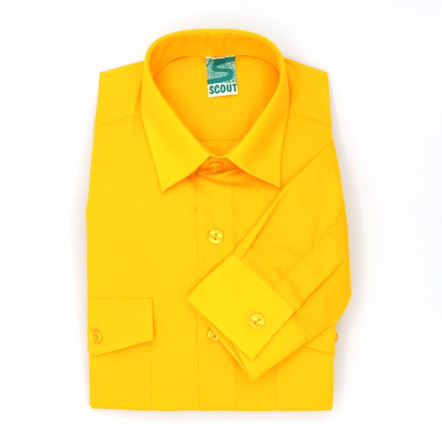 Camisa Scout Amarilla