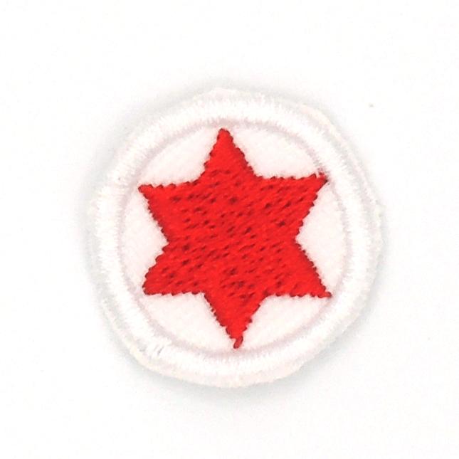 Insignia Estrella  Roja